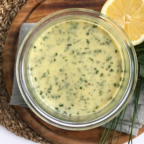 Zitronen-Kräuter-Dressing