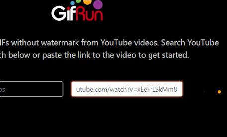 Dán link video YouTube vào