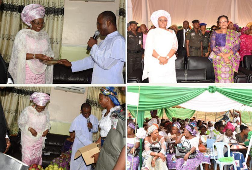 mbaka gave aisha buhari bibles