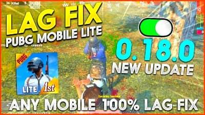 Pubg Mobile Lite New update lag fix config file download