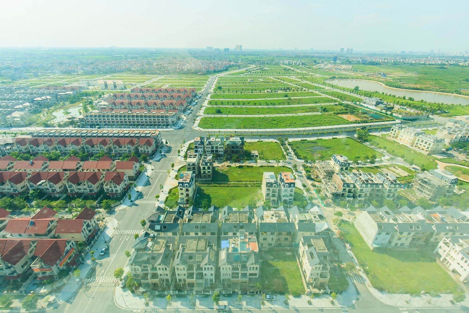 Cảnh quan khu đô thị Dương Nội.