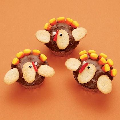 Sweet T.O.M. Turkey Cupcakes Recipe