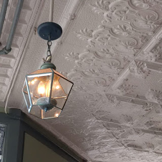 Bridgeport Coffee House ceiling