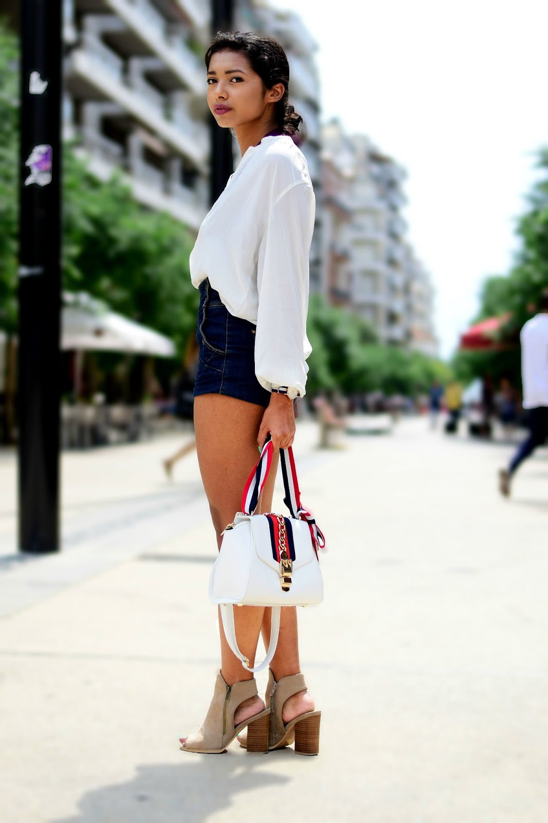 navy look outfit inspiration for summer