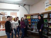 Angela Hăbăşescu şi studenţii facultăţii ŞEPA