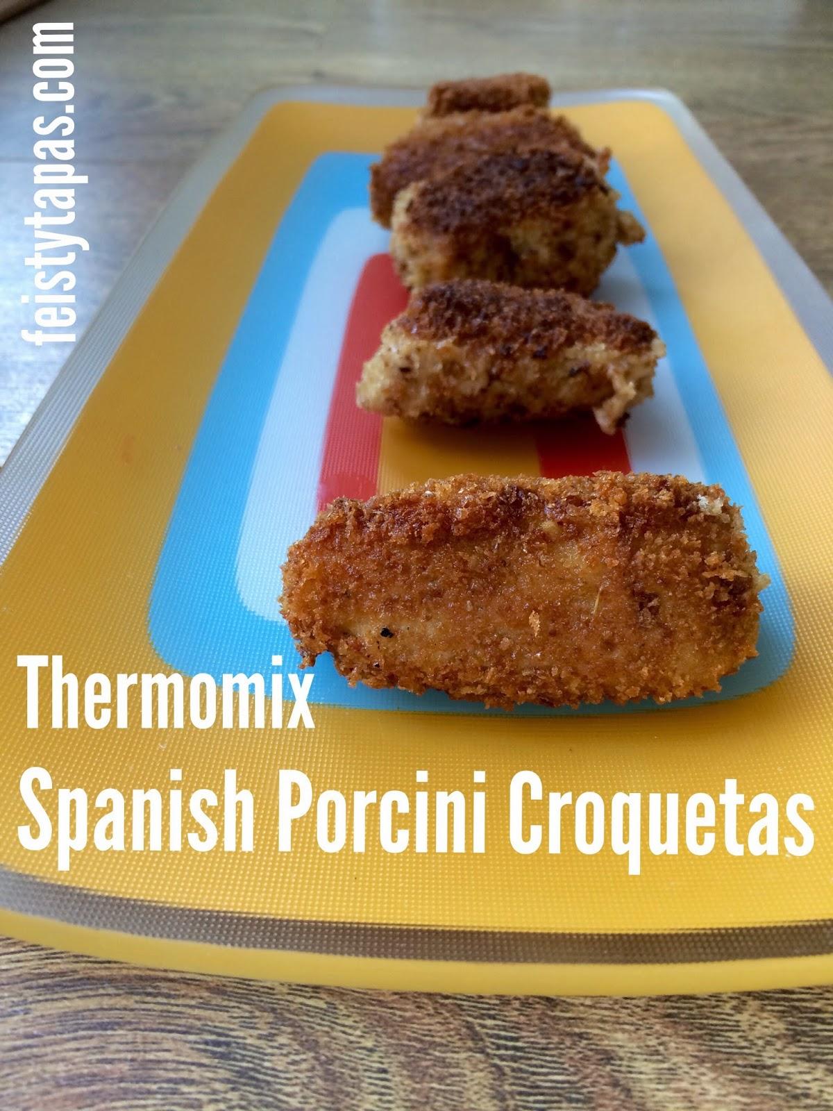 Thermomix Porcini croquetas
