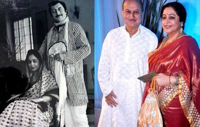 Anupam kher birthday special his love story with kiran kher