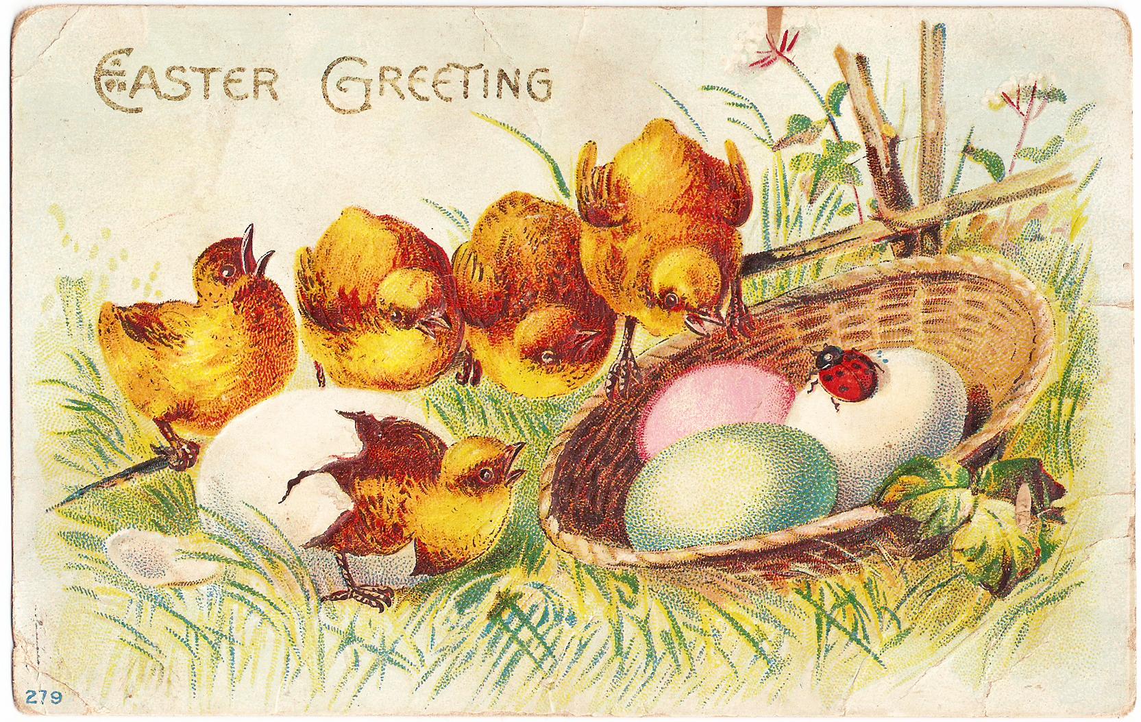 vintage spring clip art - photo #49