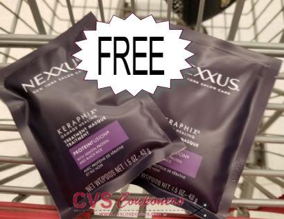 FREE Nexxus Treatment CVS Deal 714-720