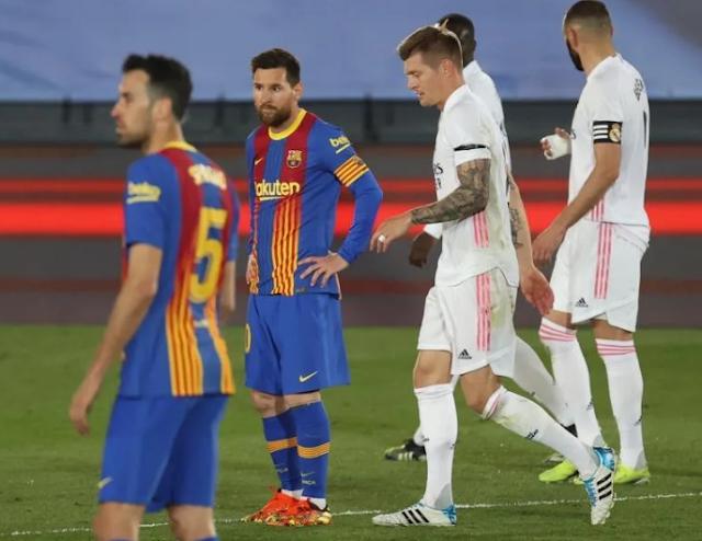 2-1. El Real Madrid gana el clásico y duerme líder