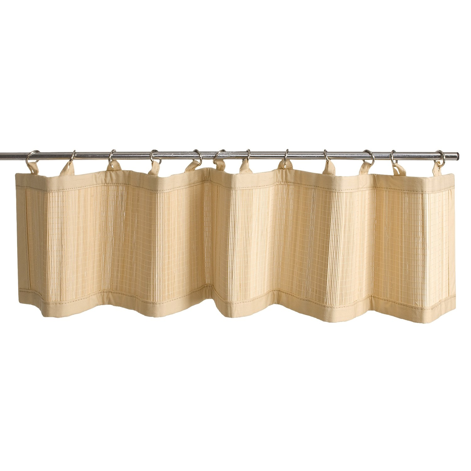 Bamboo Valance Bamboo Valance Photo