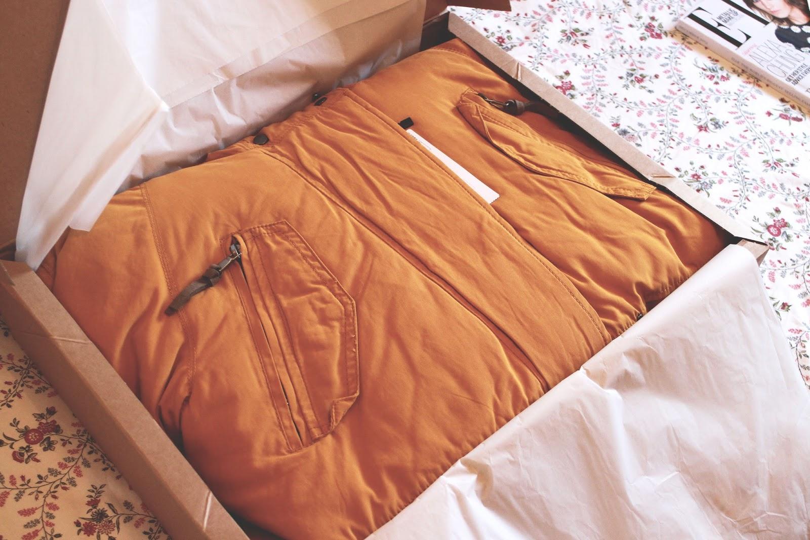mustard coat blog