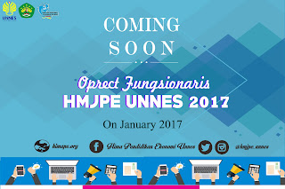 OPRECT FUNGSIONARIS HMJPE UNNES 2017 - COMING SOON