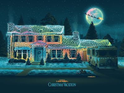 National Lampoon's Christmas Vacation Screen Print by DKNG x Bottleneck Gallery