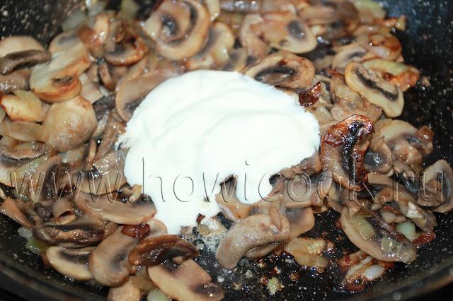 рецепт жюльена из грибов с пошаговыми фото