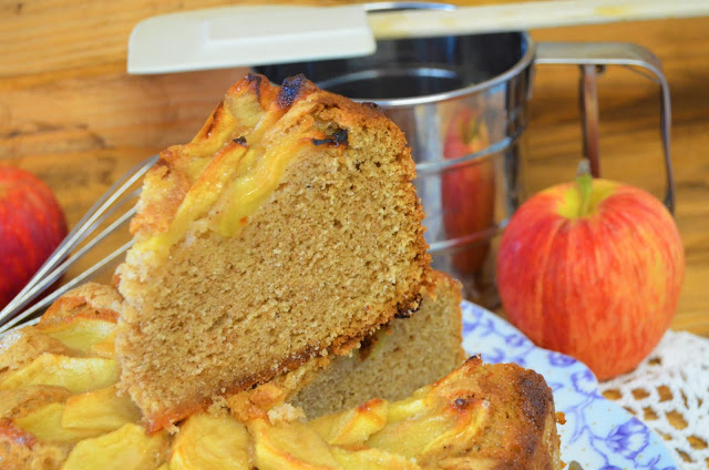 Las delicias de Mayte, bizcocho de manzana fácil, bizcocho de manzana especiado, bizcocho de manzana esponjoso, bizcocho de manzana y canela, bizcocho de manzana especiado (receta de otoño), bizcocho de manzana