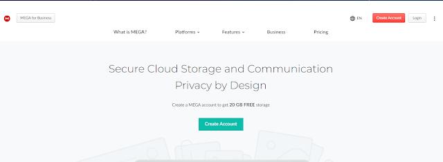 Alternative cloud storage selain google drive