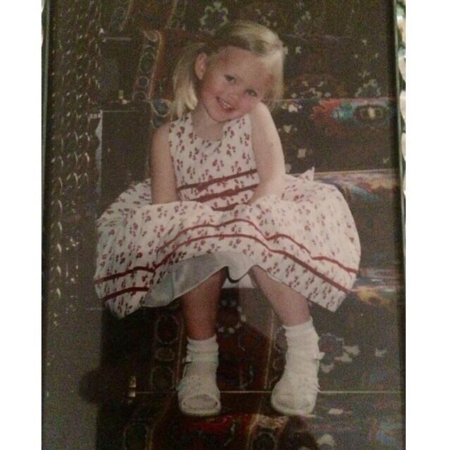Tallulah Evans Childhood pic