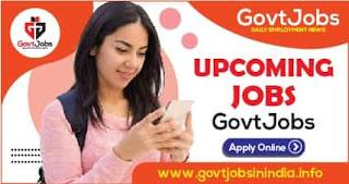 Upcoming Jobs Notification 2021