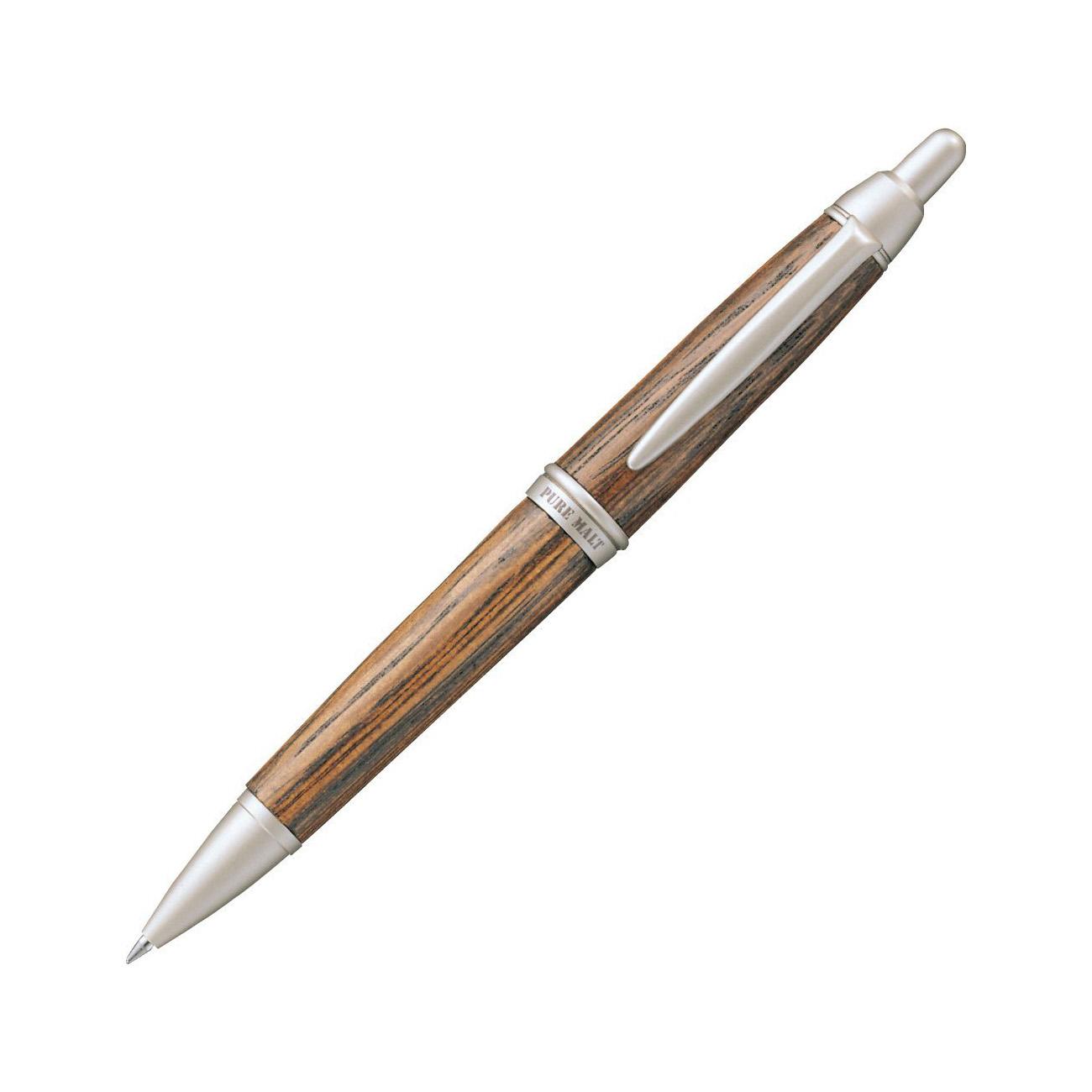三菱鉛筆 ボールペン ピュアモルト SS1015.22 ダークブラウン