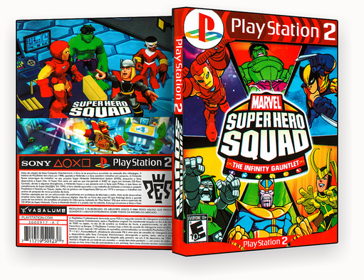 JOGO  – Super Hero Squad PS2 – ISO