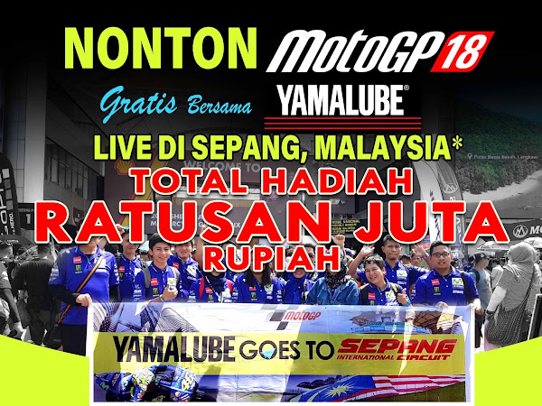 Gratis Nonton Moto GP Live di Sepang Malaysia, Mau?