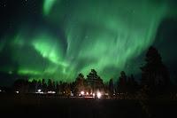 Zorza polarna w noc z 7 na 8 października. Nad Skellefteå w Szwecji. Creddit: Mats Olsson