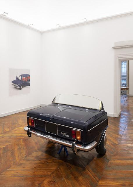 Simon Starling's A-A', B-B' Exhibition at Galleria Franco Noero