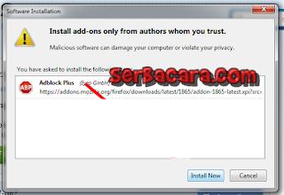 Blok Iklan Firefox3