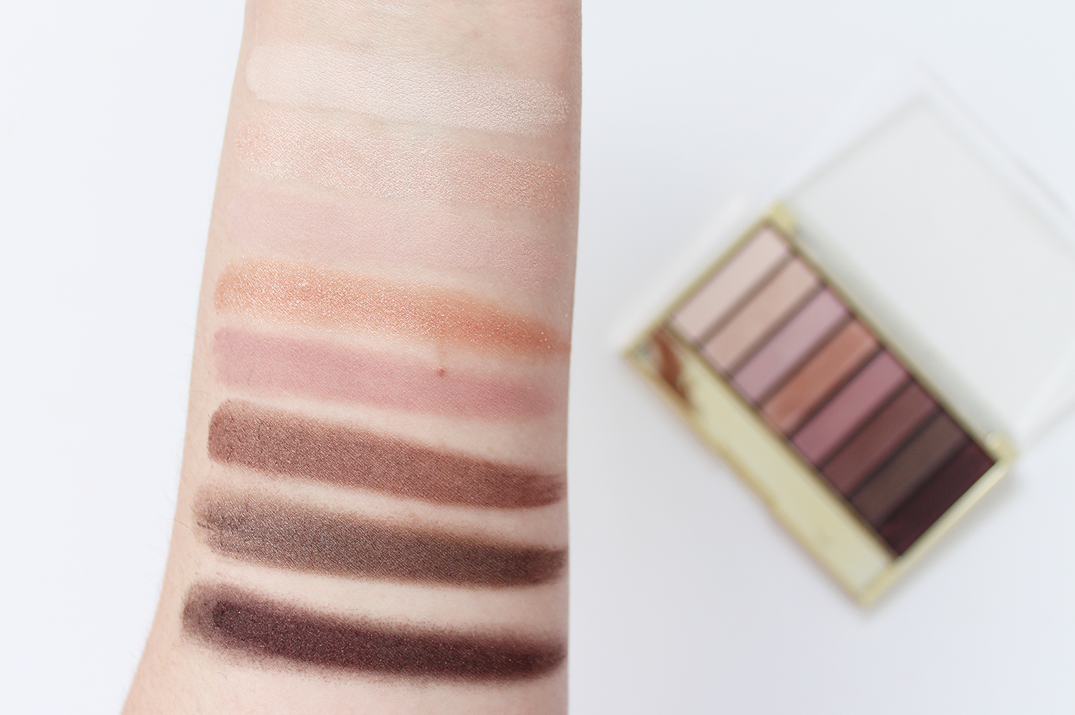 MAX FACTOR | Masterpiece Nude Palette Contouring Eye Shadows in 03 Rose Nudes - Review + Swatches - CassandraMyee