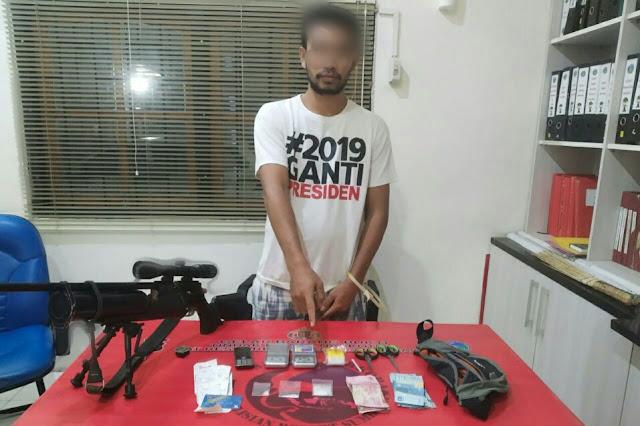 Polres Sumbawa tangkap pelaku narkoba di Langam, amankan 3 poket sabu
