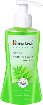 Top 10 Paraben-Free Face Wash in India for Oily, Sensitive, and Acne-Prone Skin-Himalaya Herbals Neem Face Wash