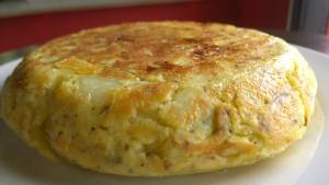 Tortilla de papas Casera