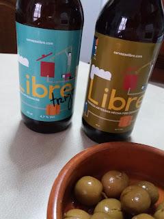 Cervezas Libre. El Tapeador Sevilla.