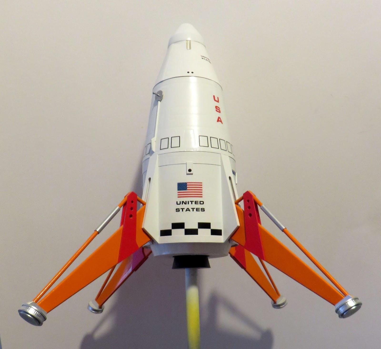 Vintage Estes K-43? Mars Lander Model Rocket🚀 ML 4 United