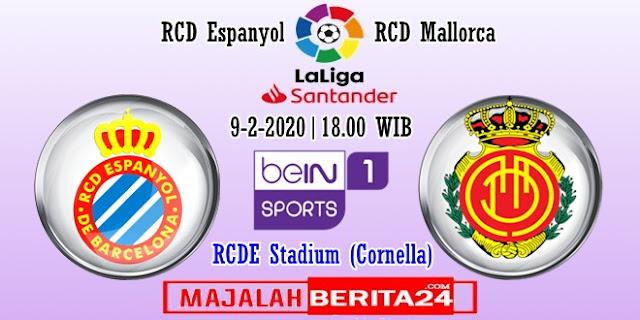 Prediksi Espanyol vs Mallorca — 9 Februari 2020