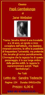 Audiolibro Papà Gambalunga
