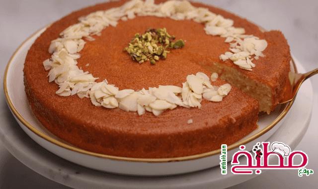 كيكة 3 ملاعق بدون مضرب بدون خلاط هبة ابو الخير