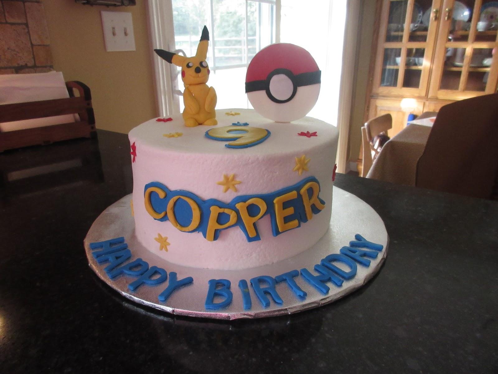 Pokeman Birthday Cake Cakes By Mary Ann