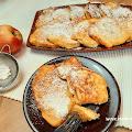 Racuszki na kefirze z jabłkami
