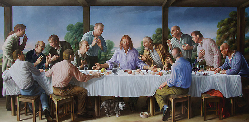 The Last Supper by Giampaolo Ghisetti