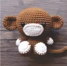 Amigurumi Monito a Crochet
