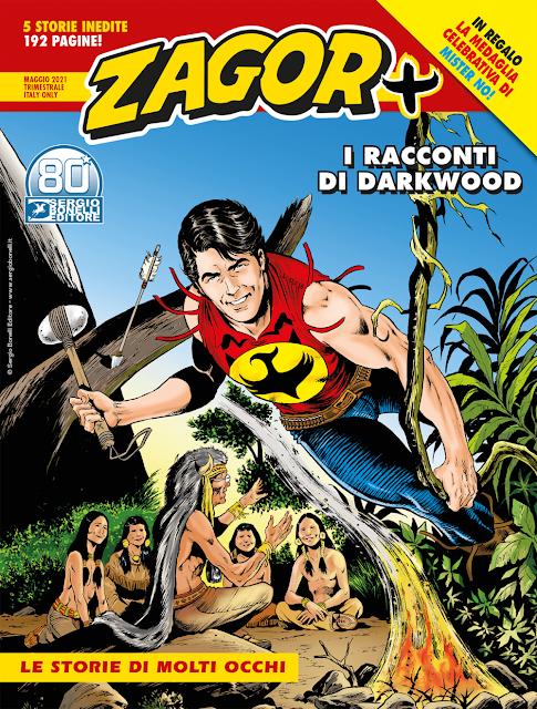 Zagor + n.1 - Le storie di Molti Occhi recensione