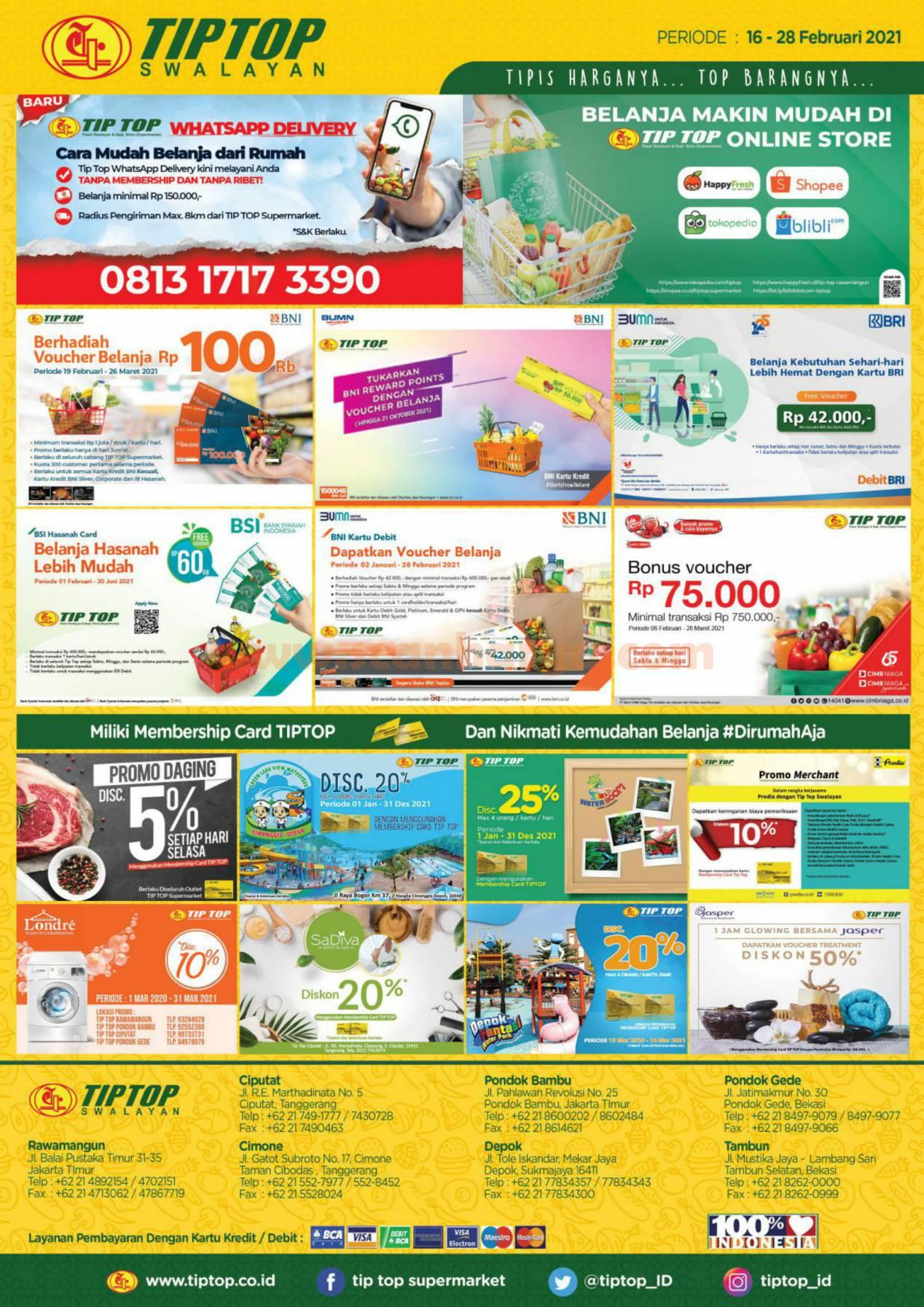 Katalog Promo Tip Top Pasar Swalayan 16 - 28 Februari 2021 12