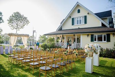 garden outdoor wedding malaysia