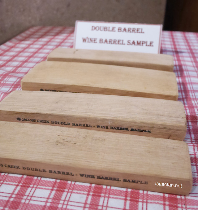 Double Barrel Wine Barrel Sample