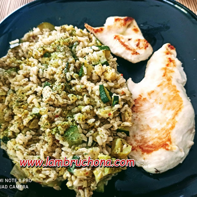 Arroz Verde. www.lambruchona.com