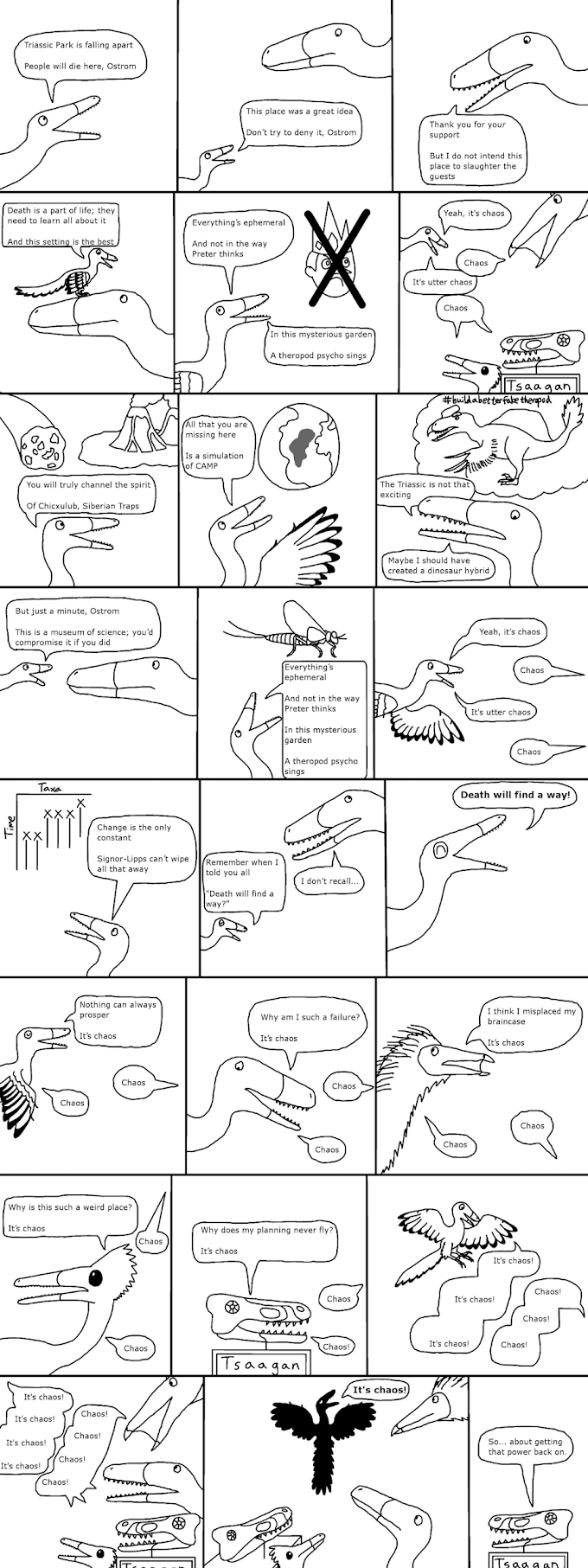 Triassic Park Page IX