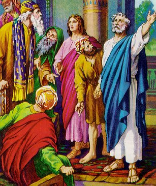 Resultado de imagen de HECHOS DE LOS APÓSTOLES 2, 14a. 36-41