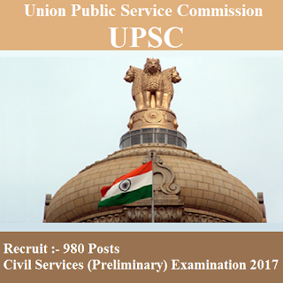 Union Public Service Commission, UPSC, Graduation, Civil Service Exam 2017, freejobalert, Sarkari Naukri, Latest Jobs, Hot Jobs, upsc logo